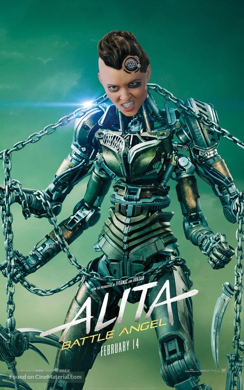 Alita: Battle Angel - Movie Poster