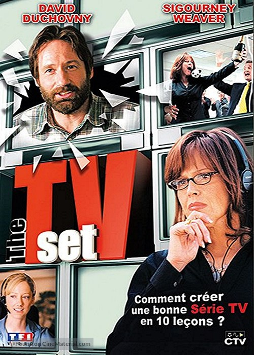 The TV Set - French DVD cover