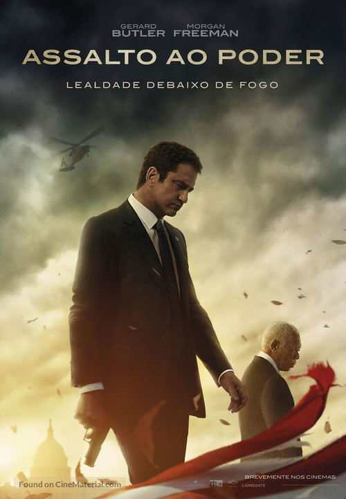 Angel Has Fallen - Portuguese Movie Poster