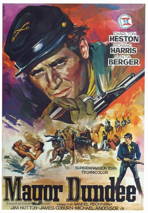 Major Dundee - Spanish Movie Poster