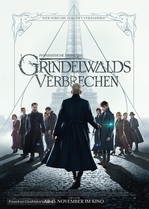 Fantastic Beasts: The Crimes of Grindelwald - German Movie Poster