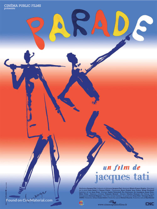 Parade - French Movie Poster