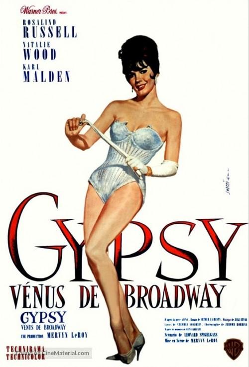 Gypsy - French Movie Poster
