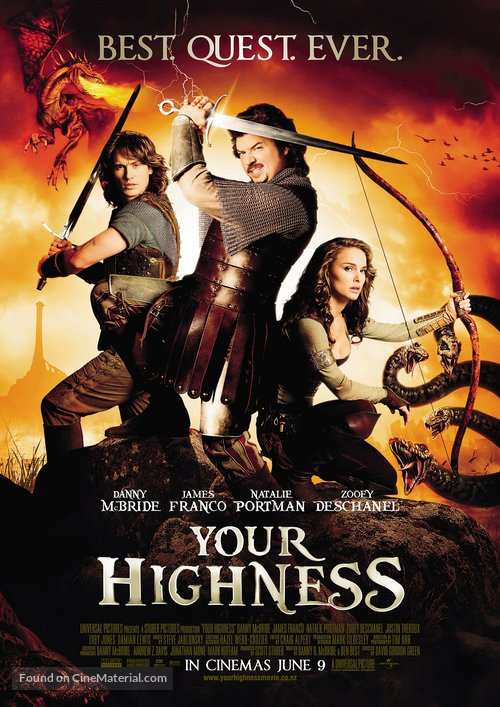 Your Highness - New Zealand Movie Poster