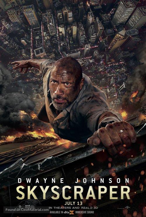 Skyscraper - Movie Poster