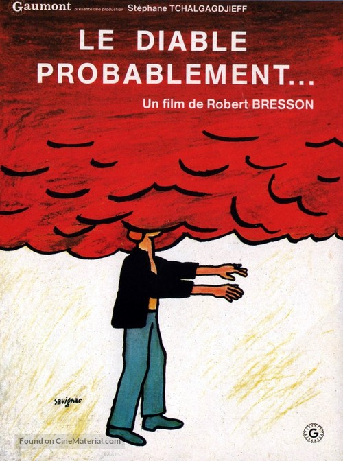 Diable probablement, Le - French Movie Poster