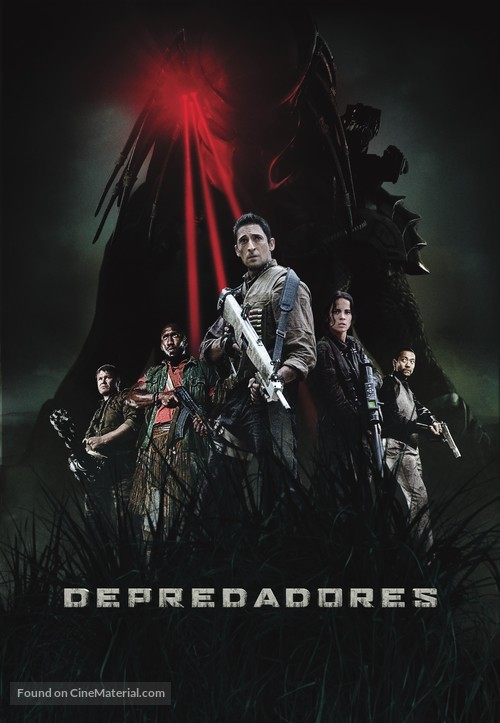 Predators - Colombian Movie Poster