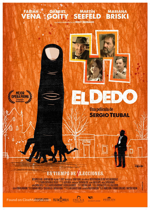 El dedo - Argentinian Movie Poster