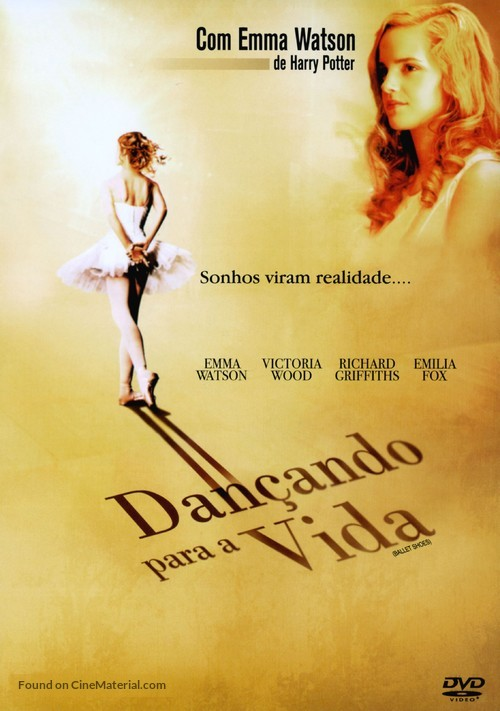Ballet Shoes - Brazilian DVD cover