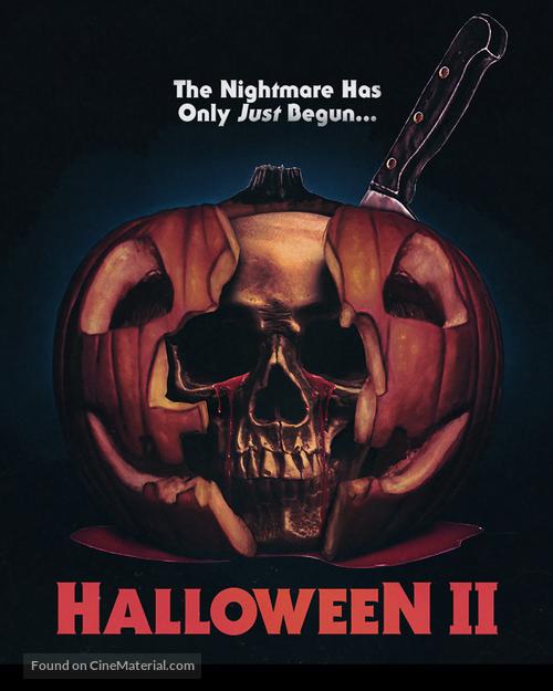 Halloween II - Blu-Ray cover