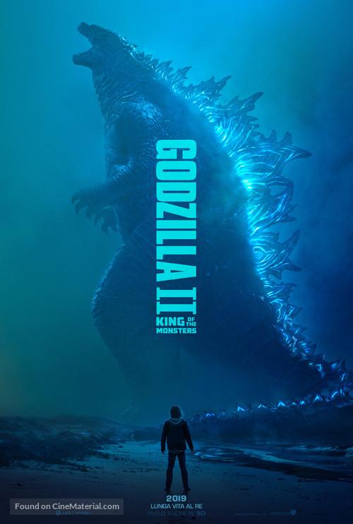 Godzilla: King of the Monsters - Italian Movie Poster