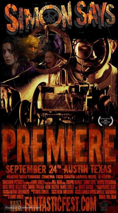 Simon Says - Movie Poster
