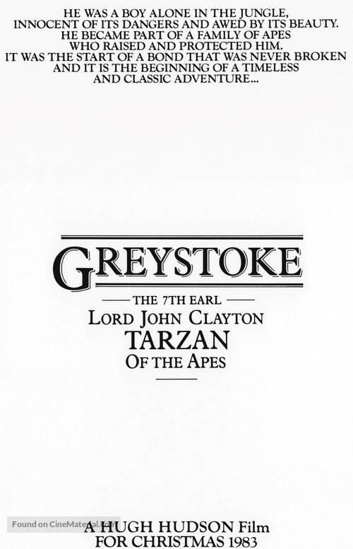 Greystoke - Movie Poster