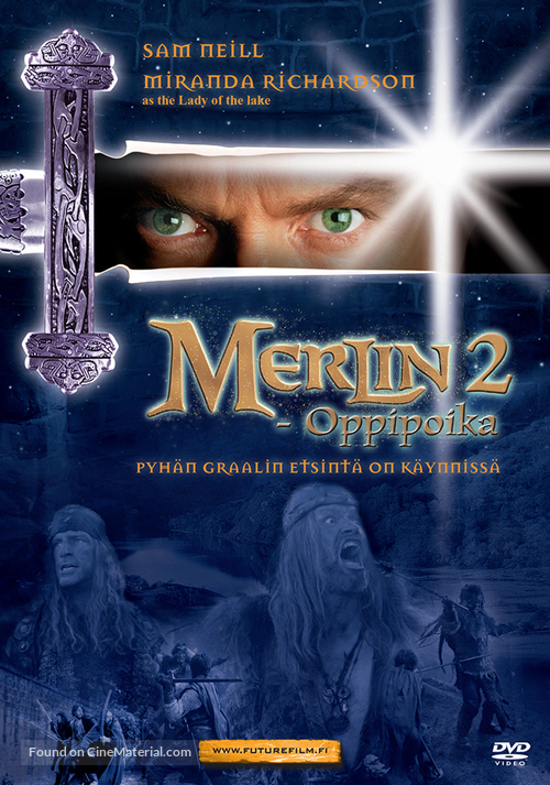 Merlin - Finnish DVD movie cover