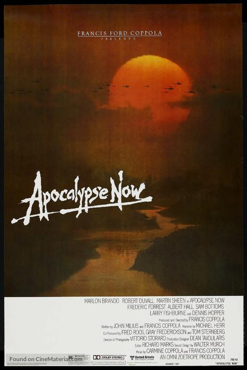 Apocalypse Now - Advance movie poster