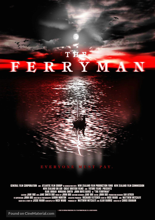 The Ferryman - New Zealand poster