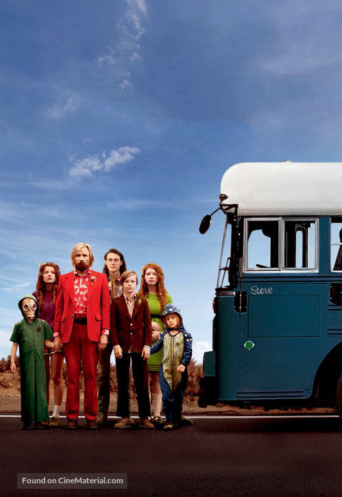 Captain Fantastic - Key art