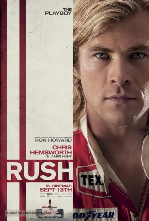Rush - British Movie Poster