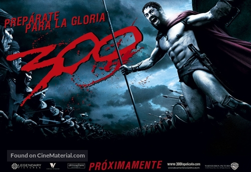 300 - Argentinian Movie Poster