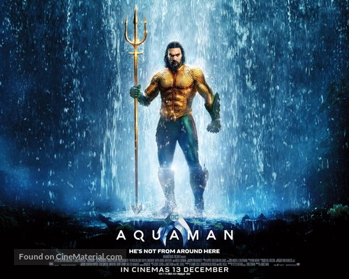 Aquaman - Singaporean Movie Poster