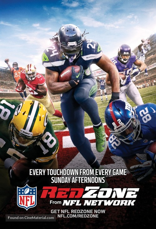 """NFL Red Zone"" - Movie Poster"
