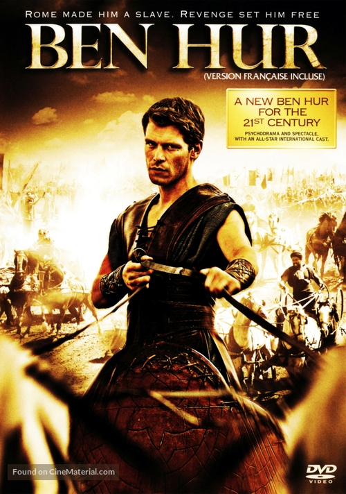 """Ben Hur"" - Canadian DVD movie cover"