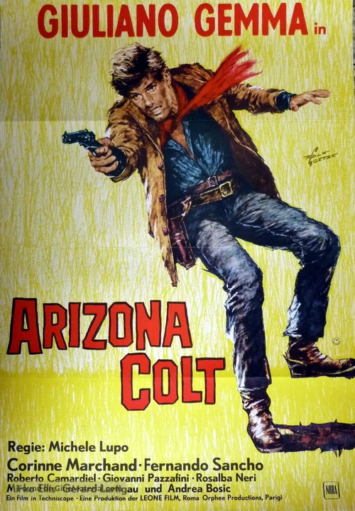 Arizona Colt - German Movie Poster