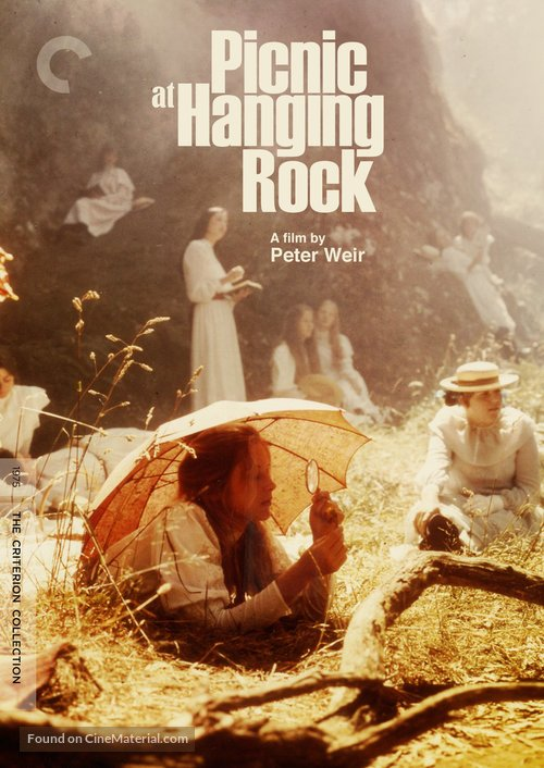 Picnic at Hanging Rock - DVD movie cover