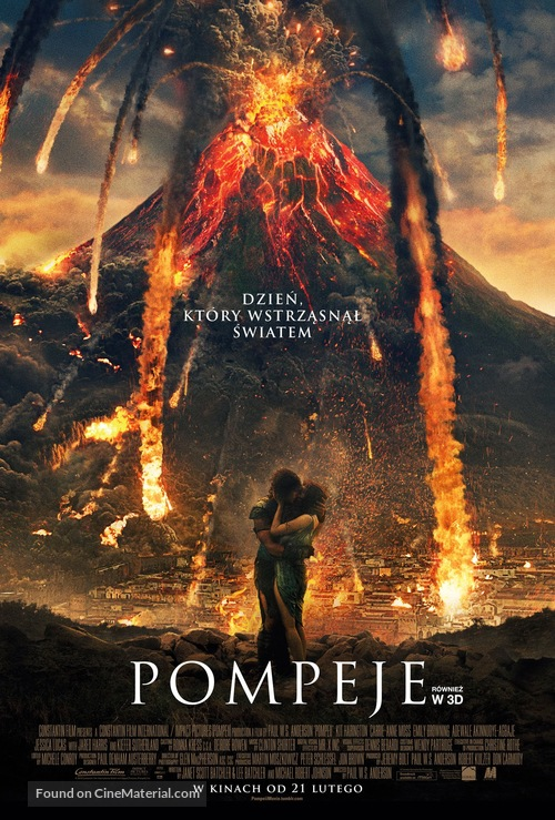 Pompeii - Polish Movie Poster
