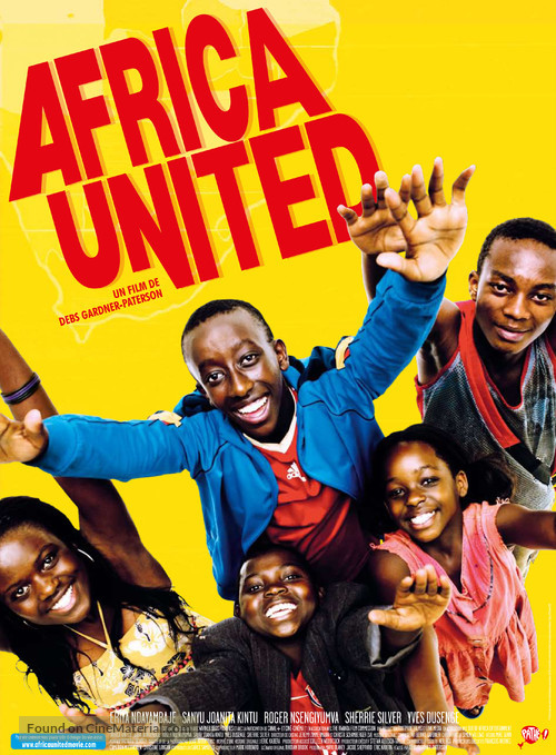 Africa United - French Movie Poster
