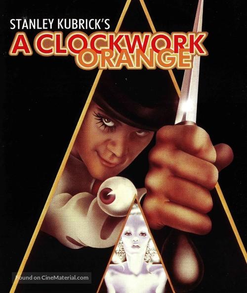A Clockwork Orange - Blu-Ray cover