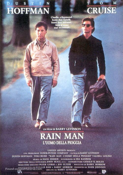 Rain Man - Italian Movie Poster