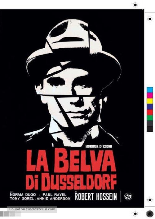 Le vampire de Düsseldorf - Italian Movie Cover