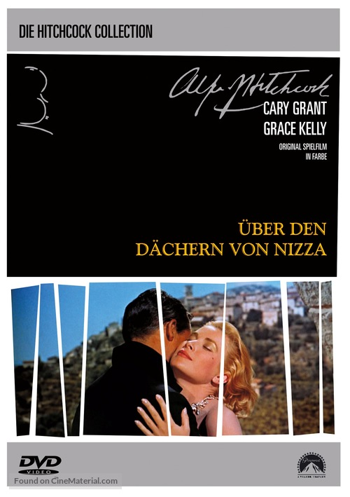 To Catch a Thief - German DVD cover