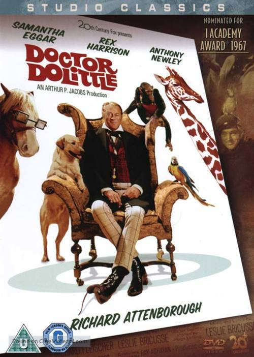 Doctor Dolittle - British Movie Cover