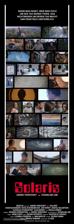 Solyaris - German Movie Poster