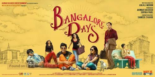 Bangalore Days - Indian Movie Poster