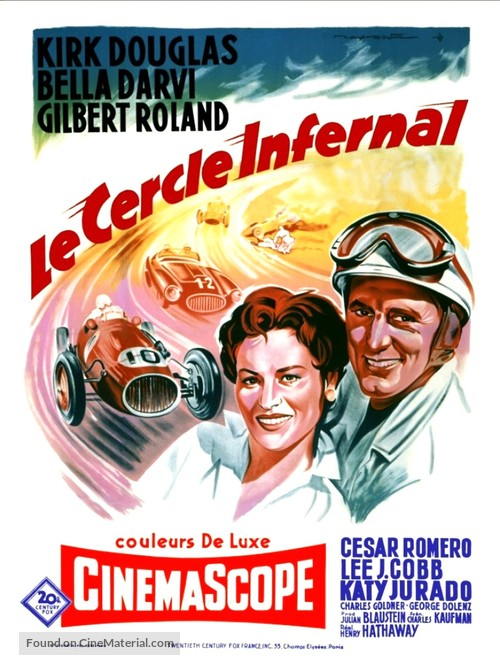 The Racers - French Movie Poster