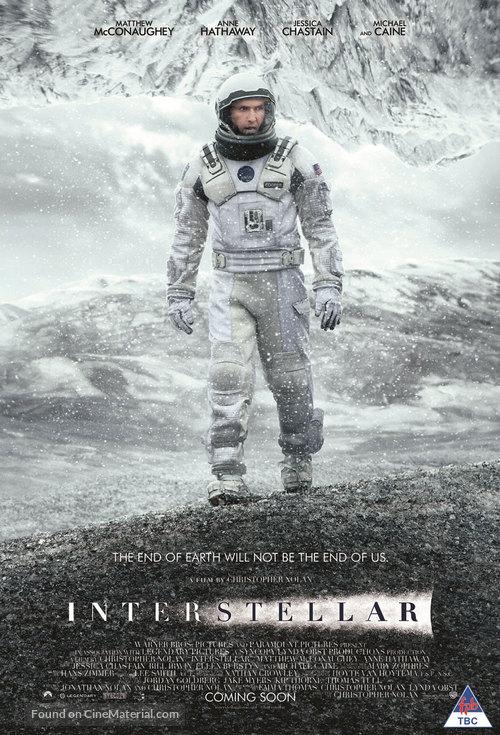 Interstellar - South African Movie Poster