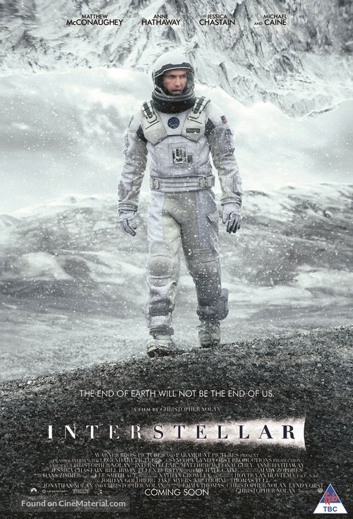 Interstellar - South African Movie Poster