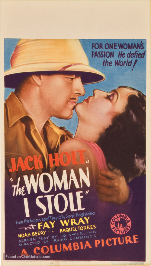 The Woman I Stole - Movie Poster