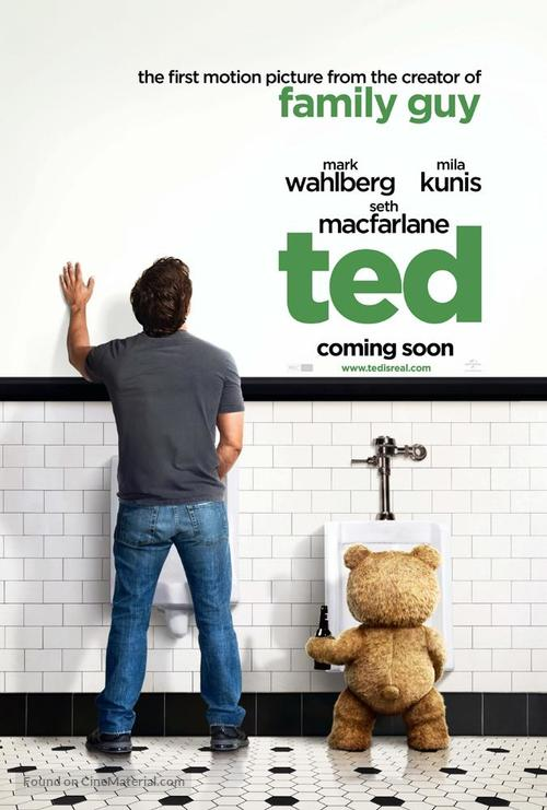Ted - British Movie Poster
