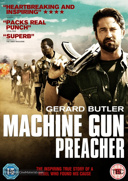 Machine Gun Preacher British Dvd Cover