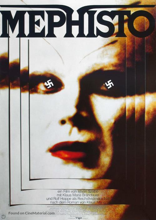 Mephisto - German Movie Poster