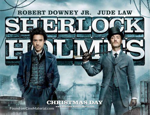 Sherlock Holmes - British Movie Poster