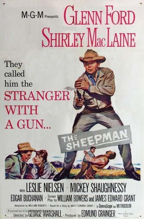 The Sheepman - Movie Poster