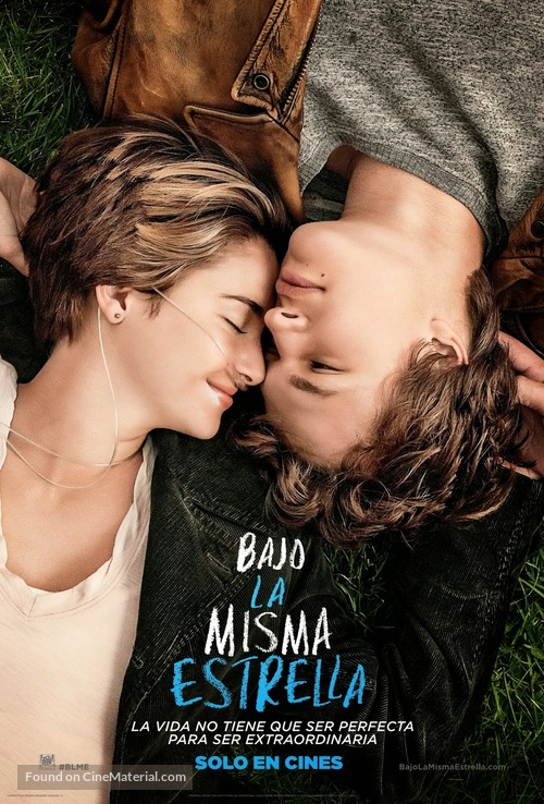 The Fault in Our Stars - Chilean Movie Poster