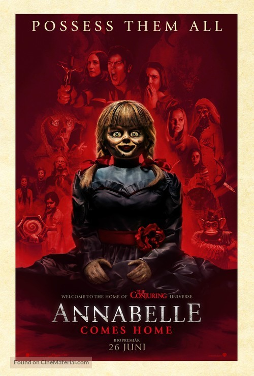 Annabelle Comes Home - Swedish Movie Poster