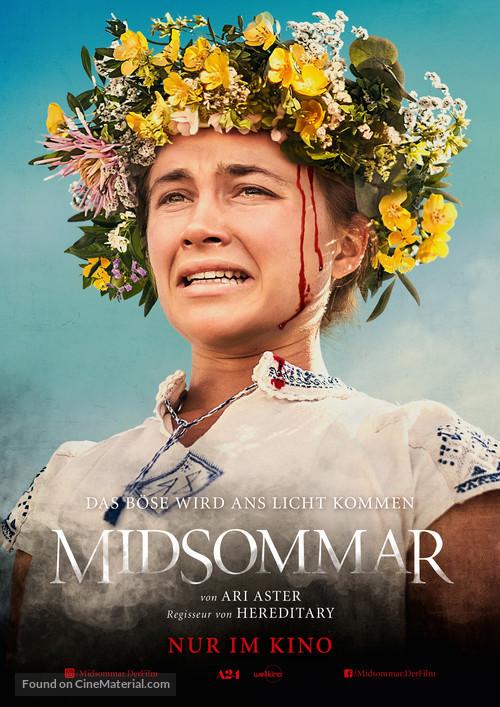 Midsommar - German Movie Poster