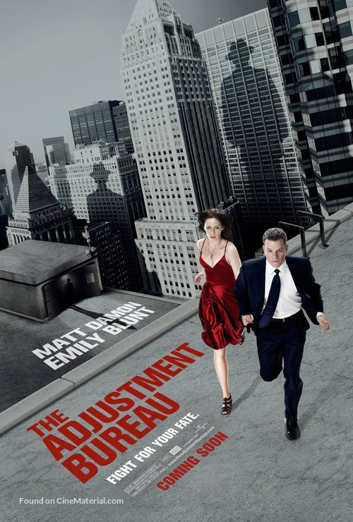 The Adjustment Bureau - Movie Poster